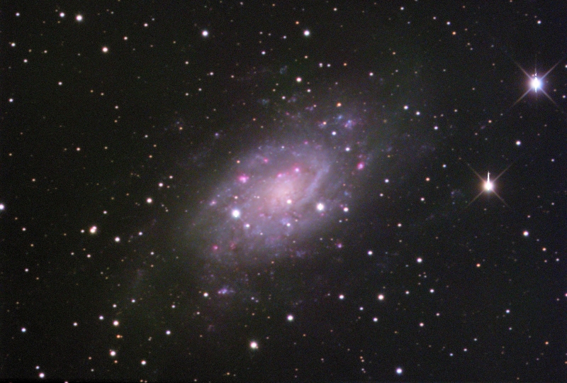 NGC2403 Galaxy in Camelopardis_2015-03-12