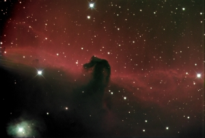 Horsehead nebula in Orion LRGB 2016-01-05