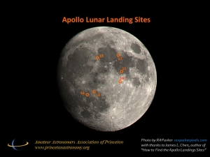 Apollo landing sites RAP June 2019