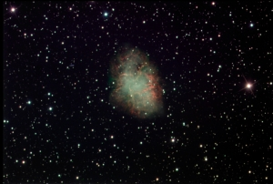M1 Crab Nebula Supernova Remanant in Taurus_2015-10-11