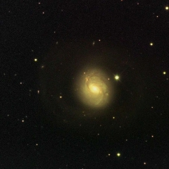 M77 Barred Spiral Galaxy in Cetus