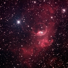 NGC7635 the Bubble Nebula in Cassiopeia_2015-09-18